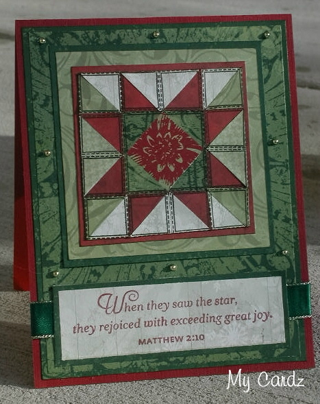 Christmas Quilt Card