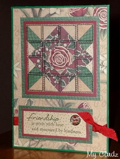 Friendship Quilt Card