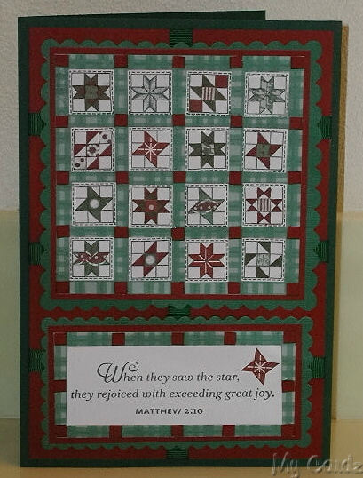 My Star Quilt Card