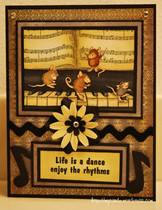 Enjoy the rhythm