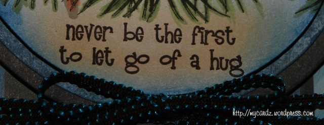Never be the first to let go of a hug