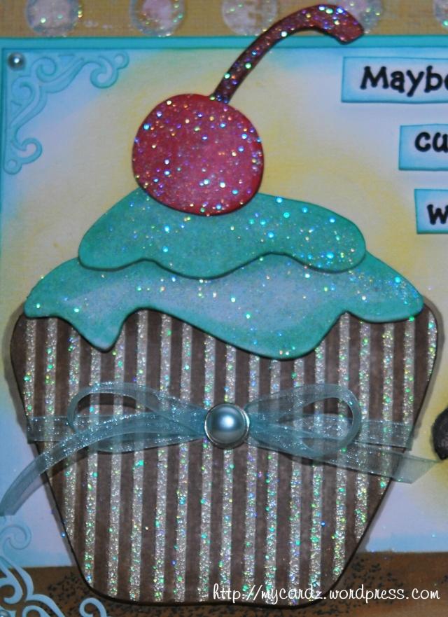 Chipboard Cupcake