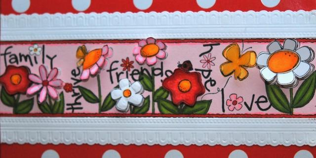 Stamps Happen Flowers