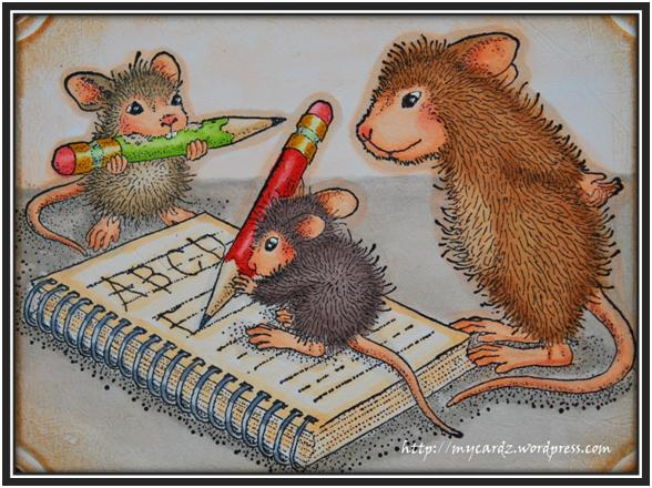 House Mouse Challenge No. 49 ~ Back to School – My Cardz ...